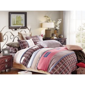 Двуспальный Евро комплект постельного белья Y-230-715
