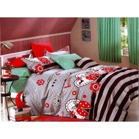 Двуспальный Евро комплект постельного белья Y-230-730
