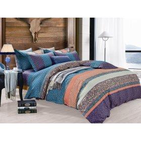 Двуспальный Евро комплект постельного белья Y-230-737