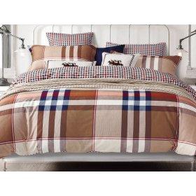 Двуспальный Евро комплект постельного белья Y-230-738