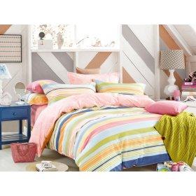 Двуспальный Евро комплект постельного белья Y-230-742
