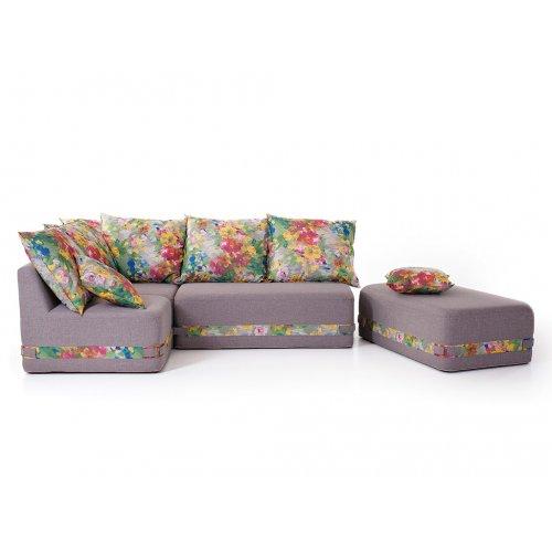Угловой бескаркасный диван Maximus