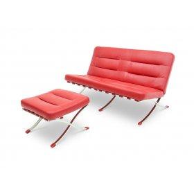 Комплект диван+пуф LEONARDO LEXA
