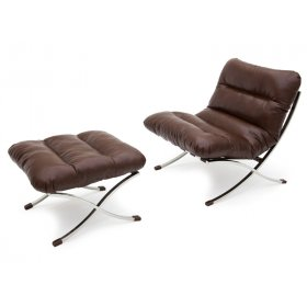 Комплект кресло+пуф  LEONARDO LINEA