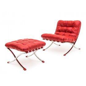 Комплект кресло+пуф LEONARDO PIAZZA