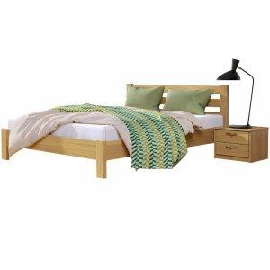 Ліжко Рената Люкс 80х200 з масиву бука
