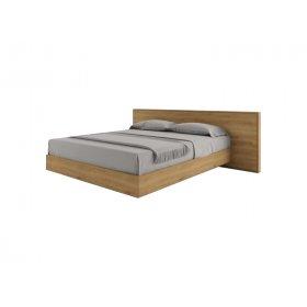 Кровать SWB027 Фолкерк 160x200 Ясень без подъемного механизма