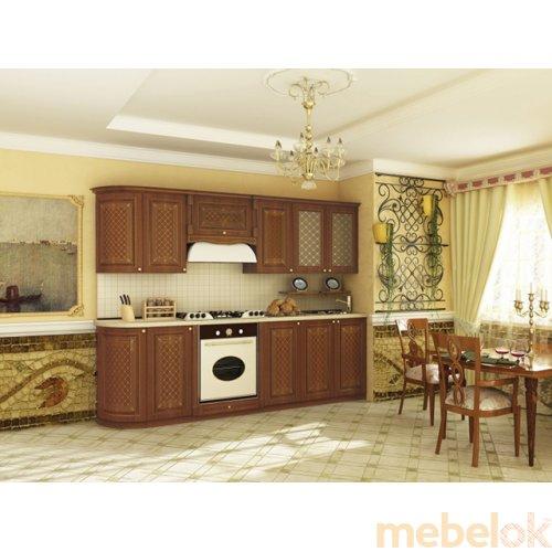 Зеркальное отображение - Кухня Ассоль-2