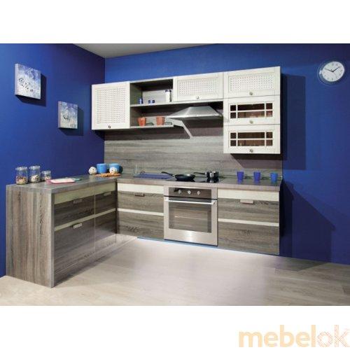 Зеркальное отображение - Кухня Оливия-2