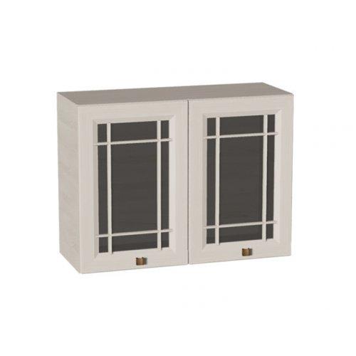 Шкаф кухонный Оливия 800 2 стеклодвери