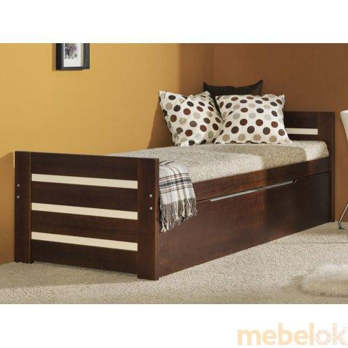 Кровать Милка с дополнительным спальным местом 90х200