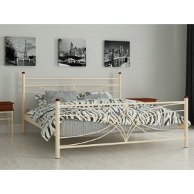 Металлические кровати: купить кровать металическую в Днепре