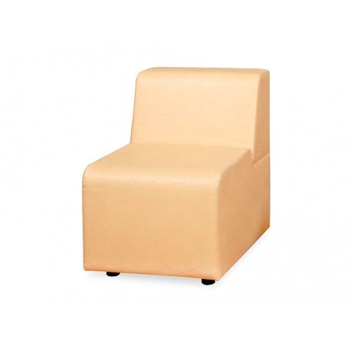Модульный диван Домино сегмент пуф со спинкой Д-3