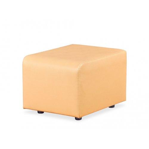 Модульный диван Домино сегмент малый пуф Д-4