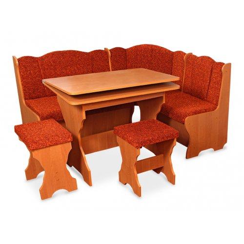 Комплект Бармен (кухонный уголок+стол+2 табурета)