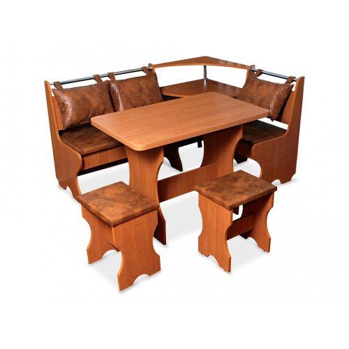 Комплект Скай (кухонный уголок+стол+2 табурета)
