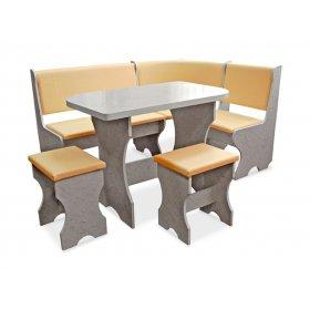 Комплект Маген (кухонный уголок+стол+2 табурета)