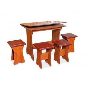 Комплект Эра (кухонный стол и 4 табурета)