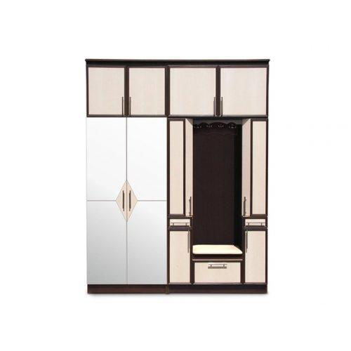 Шкаф двухдверный зеркальный Омега (0,8 м)