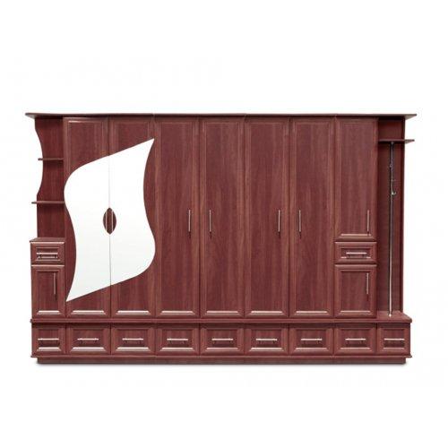 Шкаф двухдверный с открытыми полками Рекса (секция 1,12 м)