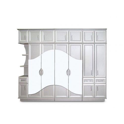 Шкаф двухдверный с зеркалом Венеция (секция 0,8 м)