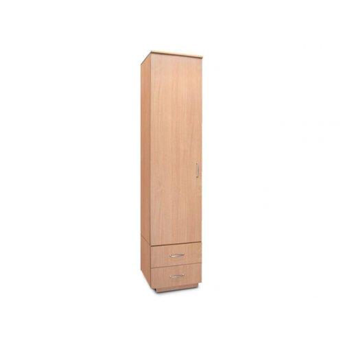 Шкаф однодверный с двумя ящиками Мишель (0,5)