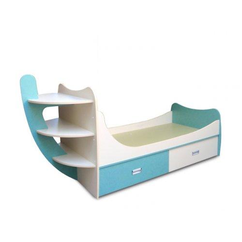 Детская кровать Кораблик (70х140)