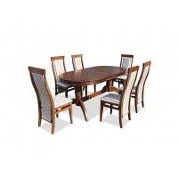 Комплект обеденный стол Версаль + 6 стульев Марэк 5