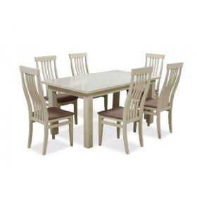Комплект обеденный стол Классик + 6 стульев Версаль