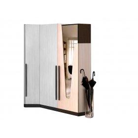 Шкаф Арья с зеркалом 55х38х195 см