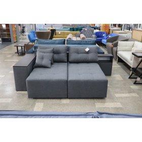 Угловой диван Барселона серый (47-87)