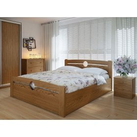 Кровать Авила 120х200 с подъемным механизмом дуб