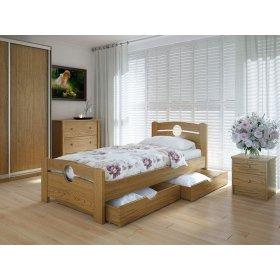 Кровать Авила с ящиками дуб