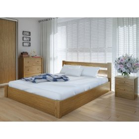 Кровать Эко с подъемным механизмом ольха