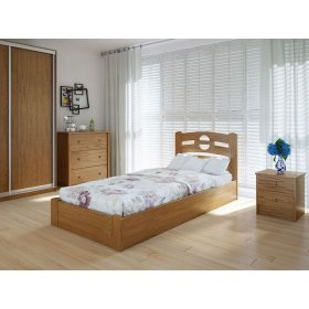 Кровать Кантри плюс с подъемным механизмом ольха