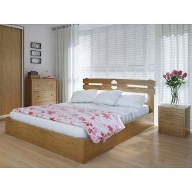 Кровать Кантри плюс с подъемным механизмом дуб