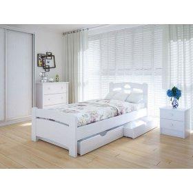 Кровать Кантри плюс с ящиками ясень