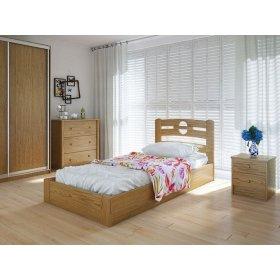 Кровать Кантри с подъемным механизмом ольха