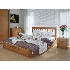 Кровать Лузиана люкс с подъемным механизмом ясень