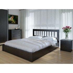 Кровать Луизиана 120х200 с подъемным механизмом ольха