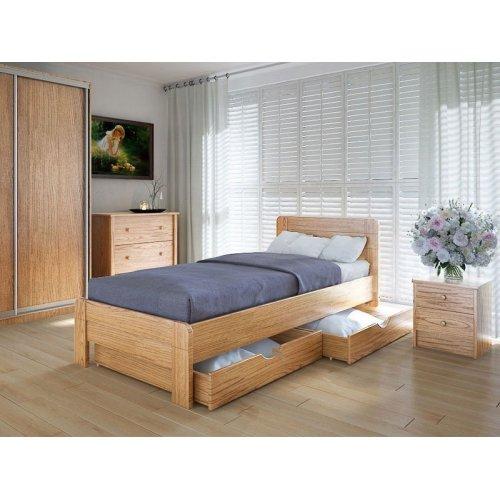 Кровать Марокко 90х200 с ящиками ольха