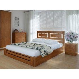 Кровать Пальмира люкс с подъемным механизмом ясень