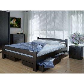 Кровать Сакура 160х200 с ящиками ольха