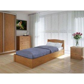 Кровать Скай с подъемным механизмом ольха