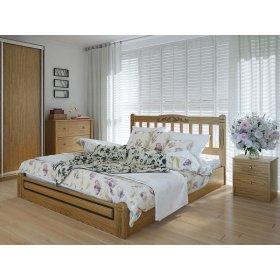 Кровать Вилидж люкс 140х200 с подъемным механизмом ясень