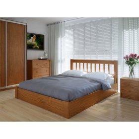 Кровать Вилидж 120х200 с подъемным механизмом ольха