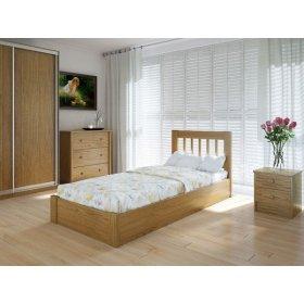Кровать Вилидж 90х200 с подъемным механизмом ольха