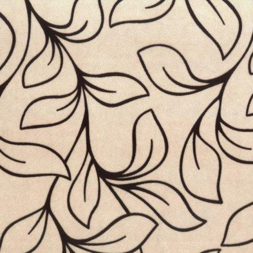 Флок на ткани Нимфа 1А
