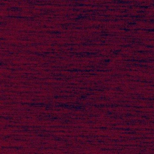 Ткань шенилл Земфира бордо комби