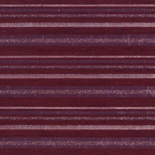 Ткань шенилл Земфира бордо полоса